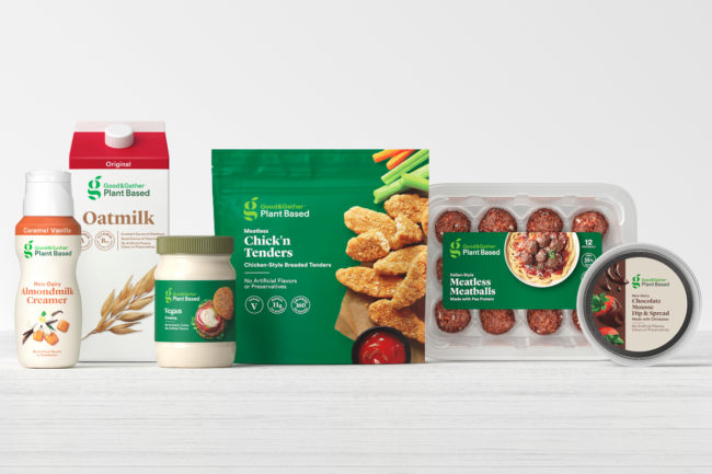 Target Good & Gather Plant Based products