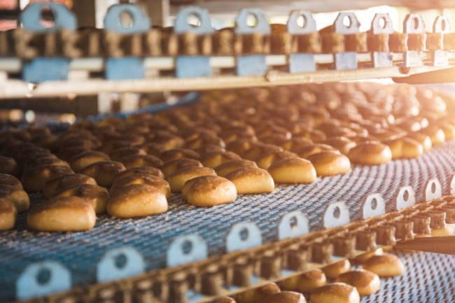Automated bakery equipment