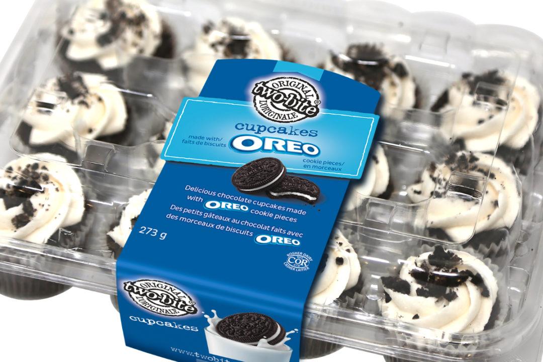 Two-Bite Oreo cupcakes