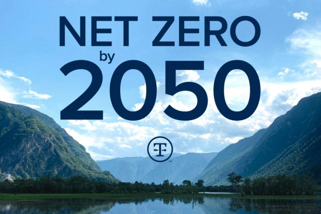 Tyson Foods net zero GHG emissions goal