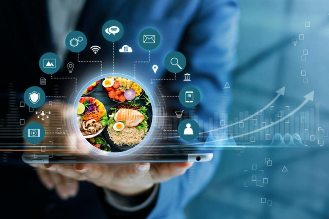 Future food trends concept