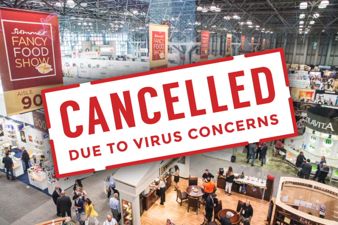 Fancy Food Show 2021 cancelled
