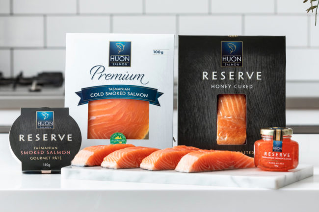Huon Aquaculture salmon products