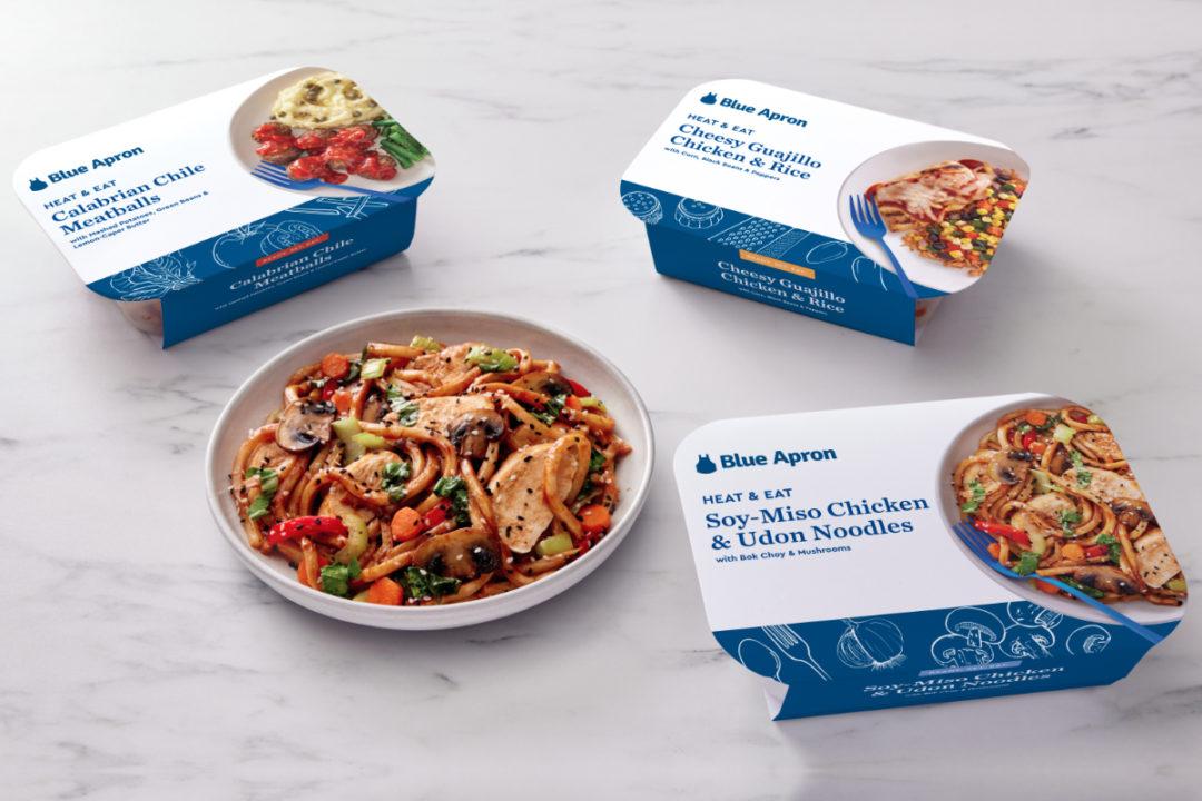 Blue Apron Heat & Eat meals