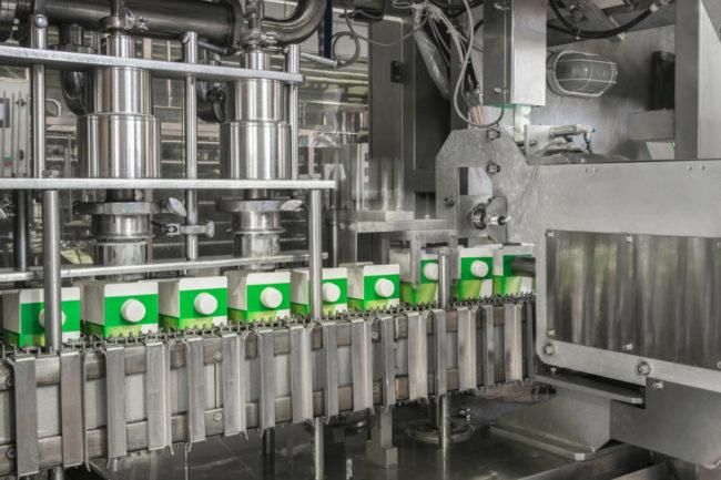 Dairy carton processing