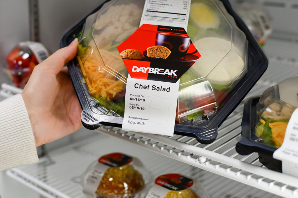 It is a picture of Soft Grab and Go Labels