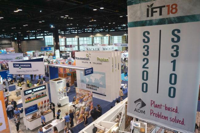 IFT18 show floor