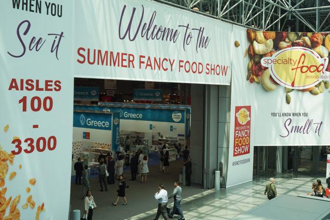 Summer Fancy Food Show floor