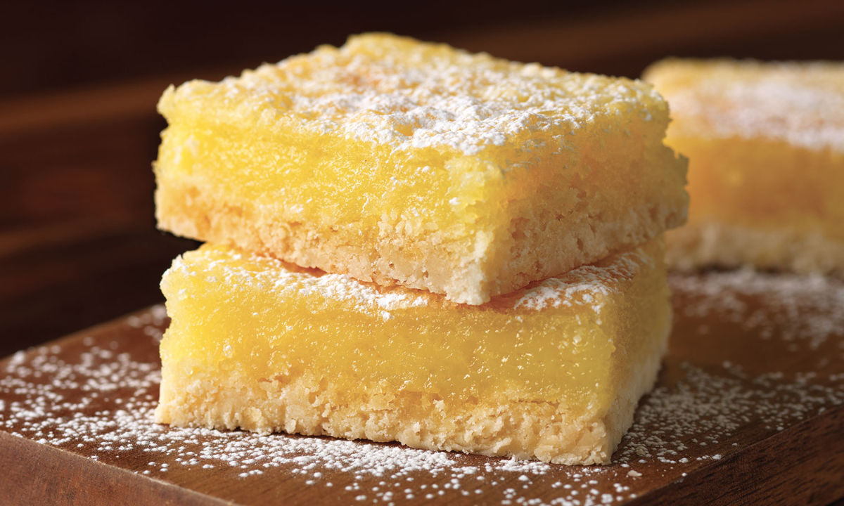 Lemon bars American Egg Board
