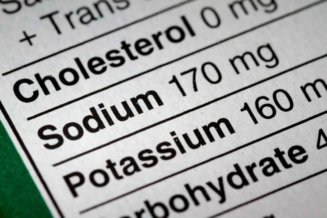 Consumers continue to keep an eye on sodium content in meat and poultry