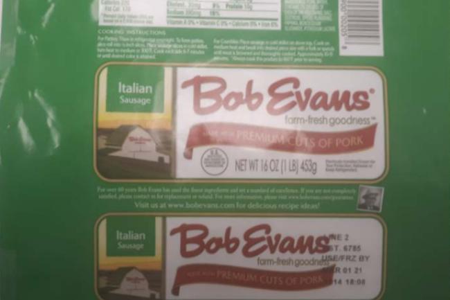 Bob Evans smaller