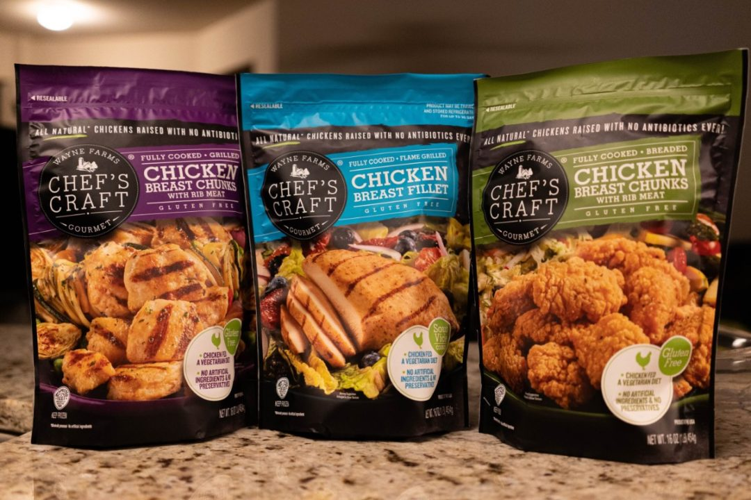 CC Chefs chickens