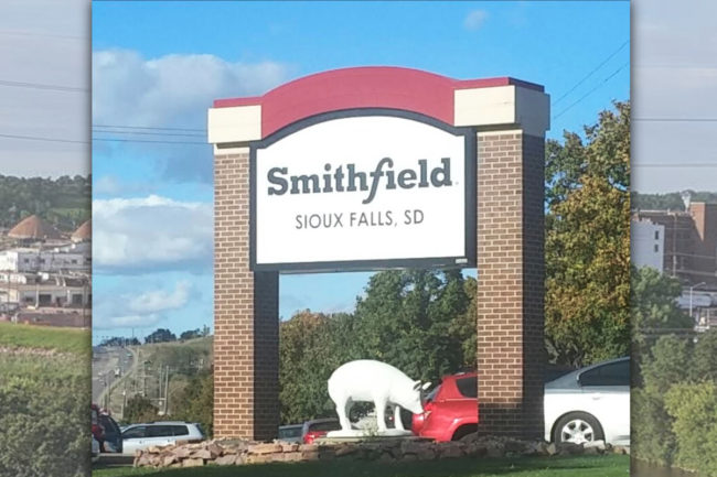 Smithfield SD sign