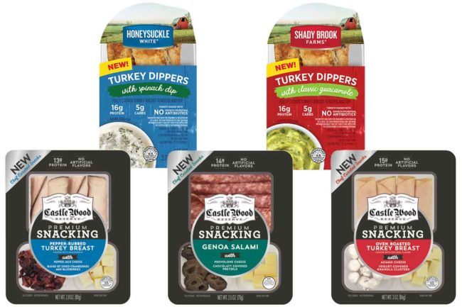 Cargill Turkey snacks
