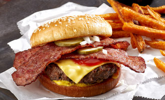 Johnsonville cheeseburger