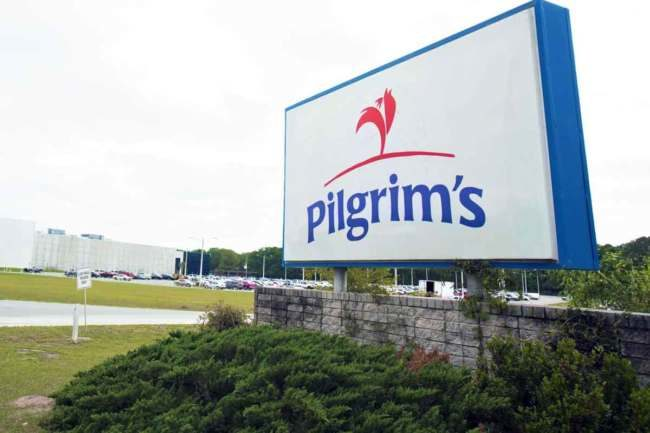 A chemical led to the evacuation of a Pilgrim's Pride poultry plant.