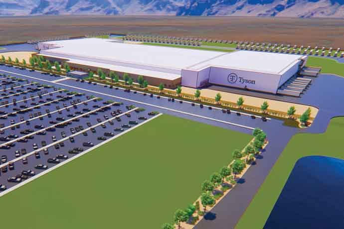 Tyson's Eagle Mountain plant will be a meat-cutting and packaging operation.