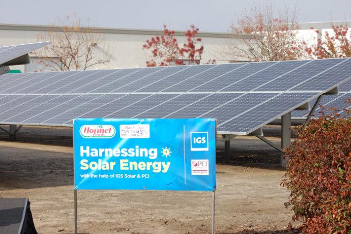 Hormel solar small