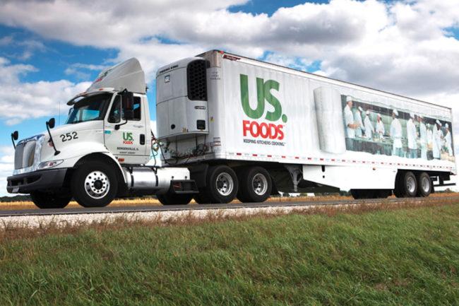 US Foods truck