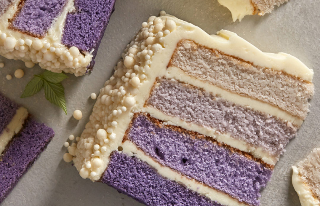 US Foods Ombre Cake