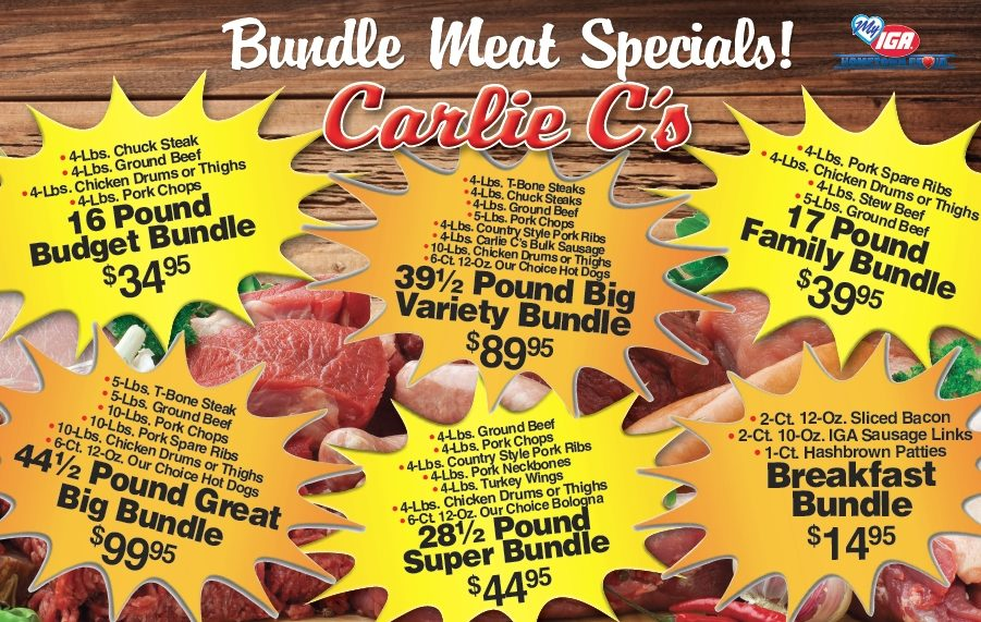 carlie c meat bundle