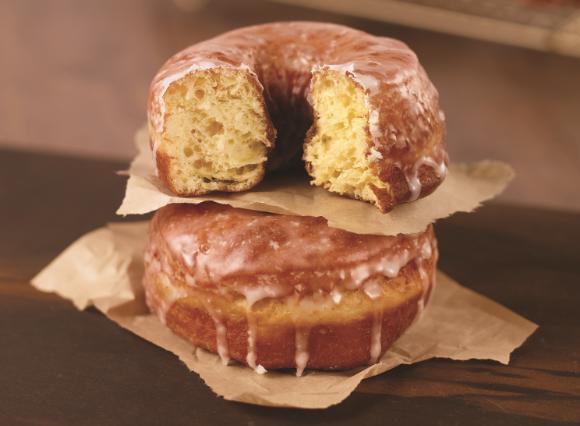 dawn sourdough donut