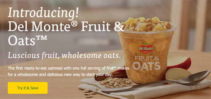 Del Monte Fruit & Oats