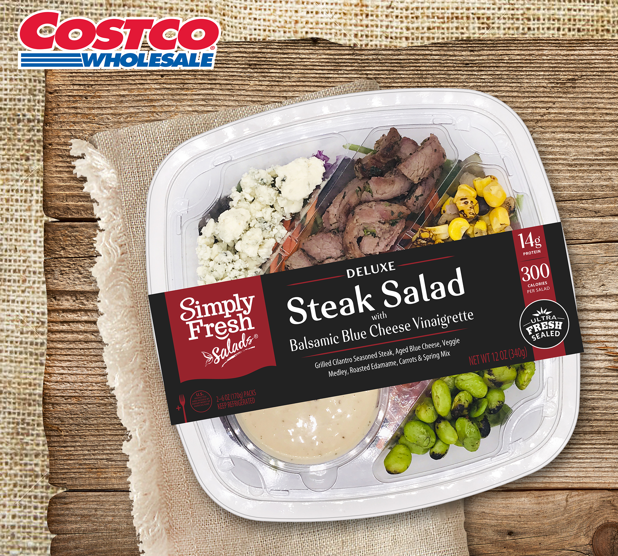 Five star steak salad