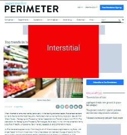 Supermarket Perimeter