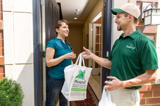 Peapod home delivery