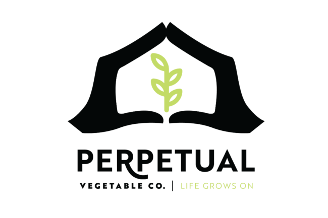 perpetual vegetable logo sp